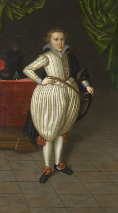 Jacob Van Doort, 'Prince Of Brunswick', 1609