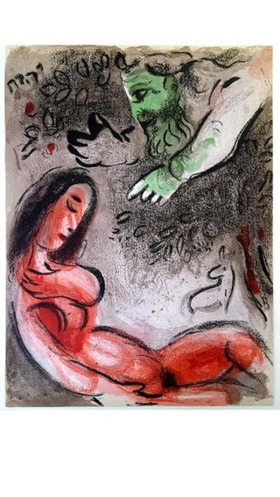 "Marc Chagall, 'Original Lithograph ""Eve"" by Marc Chagall', 1960"