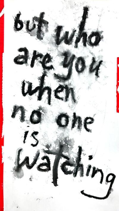 Daniel Scharfman, 'but who are you', 2019
