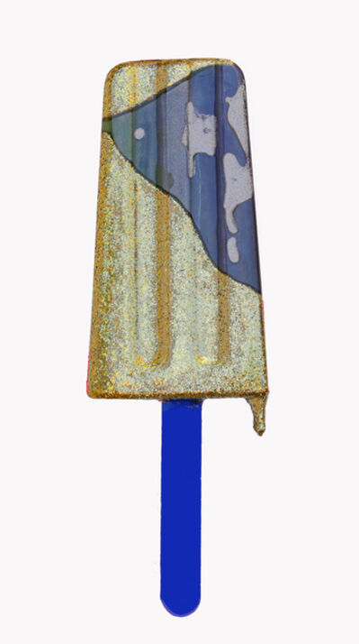Betsy Enzensberger, 'Blue & Gold Popsicle', 2018