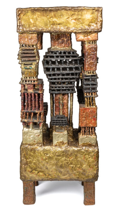 Ibram Lassaw, 'Caryatids VIII', 1983