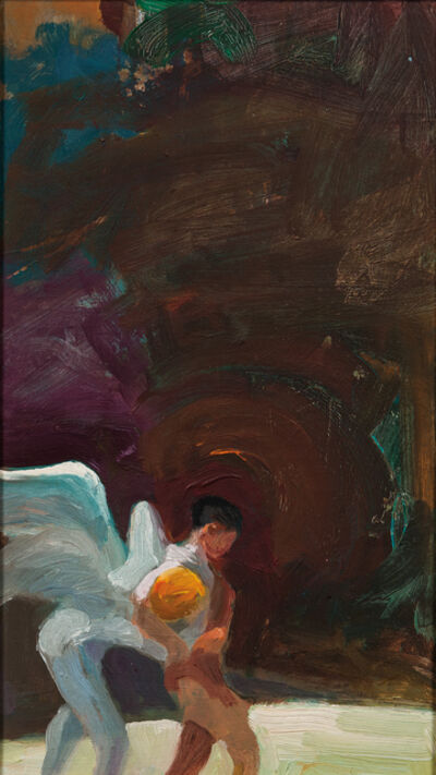 Paul Wonner, 'Jacob Wrestling with an Angel'