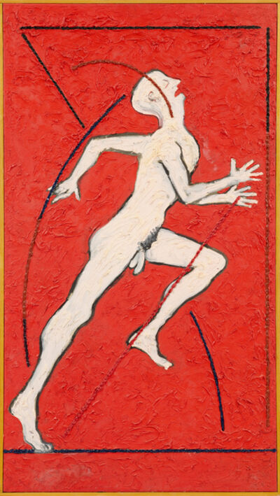 Derek Boshier, 'Running Reaching Figure', 1979