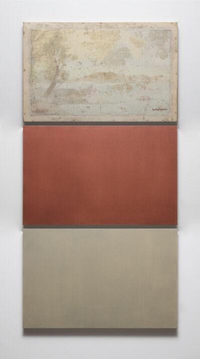 Gabriel de la Mora, 'L.C., 8.5 gr / Anónimo 4.1 gr de pigmento: El retorno de la Osa Mayor 1966 vs. Lago de Pátzcuaro', 2018