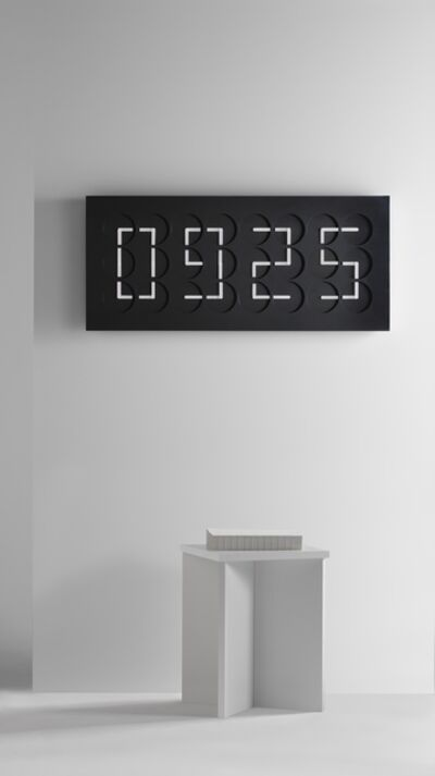 Humans Since 1982, 'ClockClock 24, black', 2016