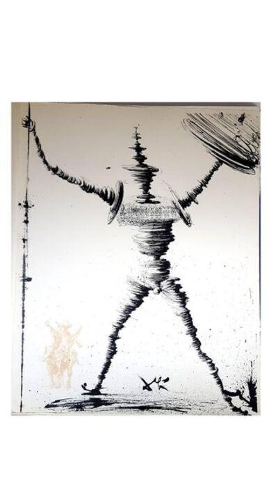 """Salvador Dalí, 'Original Lithograph """"Don Quixote IV"""" by Salvador Dali', 1957"""