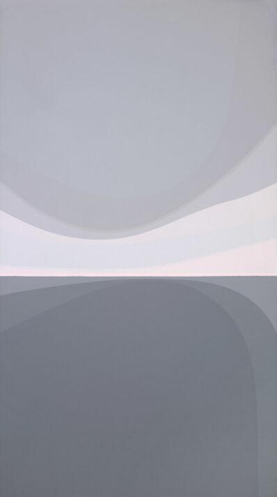 Helen Lundeberg, 'Landscape: Grey and Pink', 1979