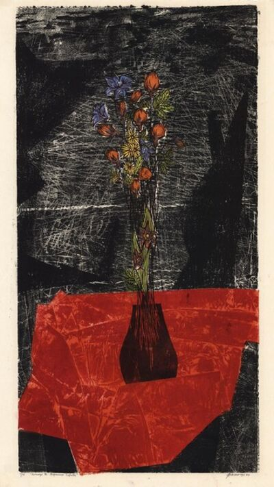 Antonio Frasconi, 'Homage a Francisco Sabate.', 1960
