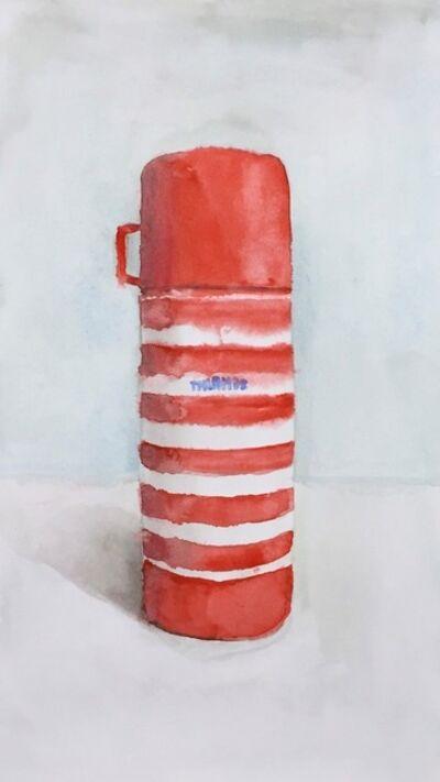 Joshua Huyser, 'Striped Thermos', 2015