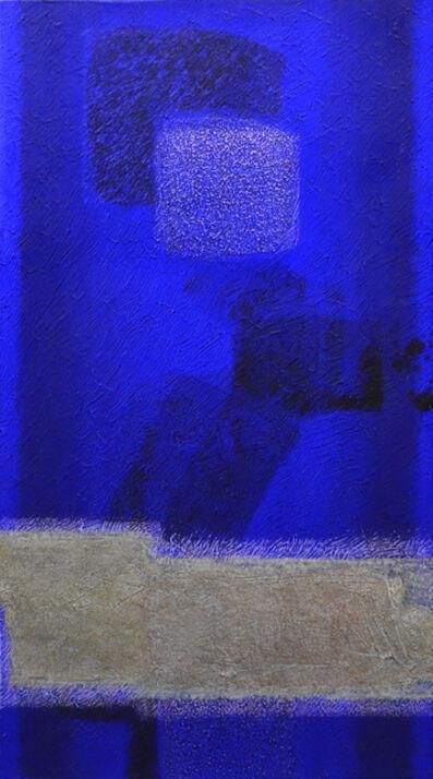 Katsuyoshi Inokuma, 'In BLUE Sep'16', 2016
