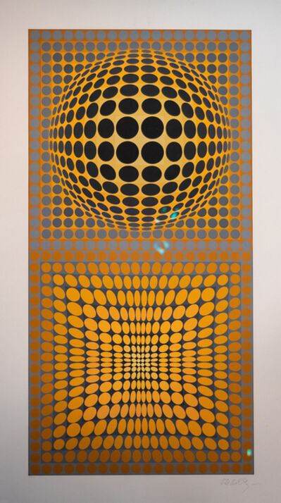 Victor Vasarely, 'VY 28 A VP-118', 1972