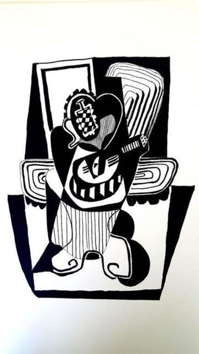 """Pablo Picasso, 'Etching """"Hélène chez Archimède VIII"""" after Pablo Picasso', 1955"""