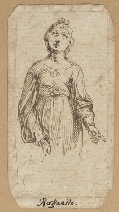 Italian School, 17th Century, 'Saint Cecilia, after Raphael', 17th Century