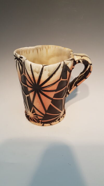 David Bolton, 'Asanoha Cup with Handle', 2015
