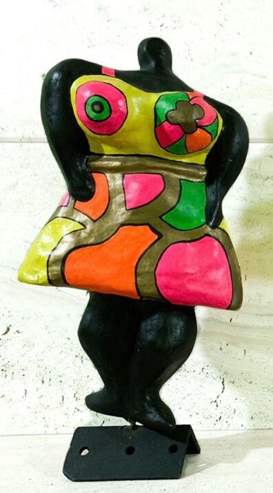 Niki de Saint Phalle, 'Black Nana', 1967-1969