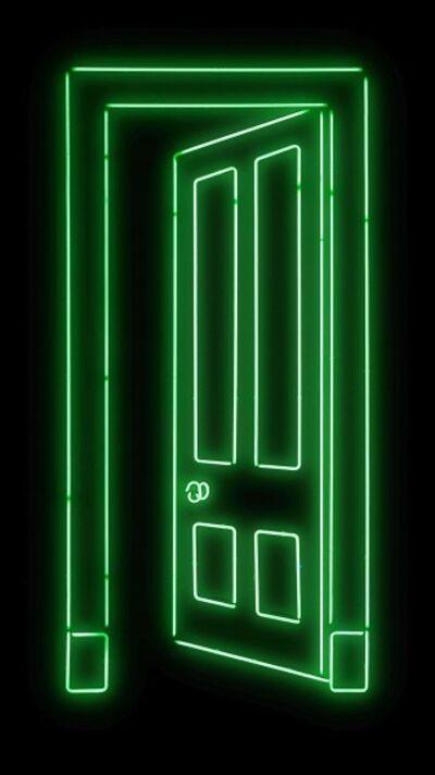 Gavin Turk, 'Door (Green)'