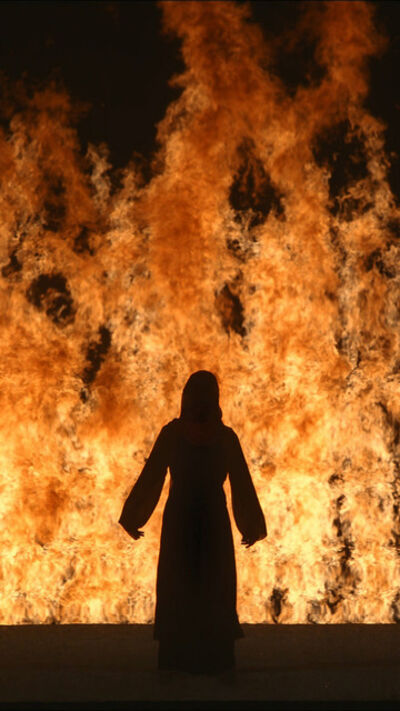 Bill Viola, 'Fire Woman', 2005
