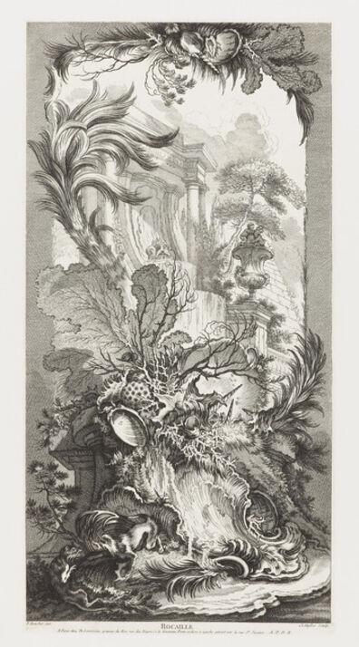 François Boucher, 'Rocaille [Rococo Design] in Nouveaux Morceaux pour des paravents [New Concepts for Screens]', 1740