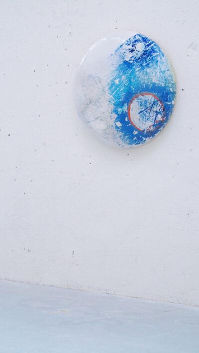 Stefanie Brehm, 'disk - lazulite ', 2018