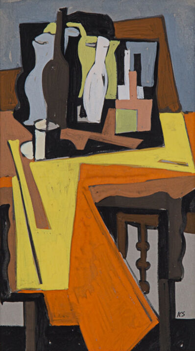 Kenneth Stubbs, 'Geometric Still Life', ca. 1954
