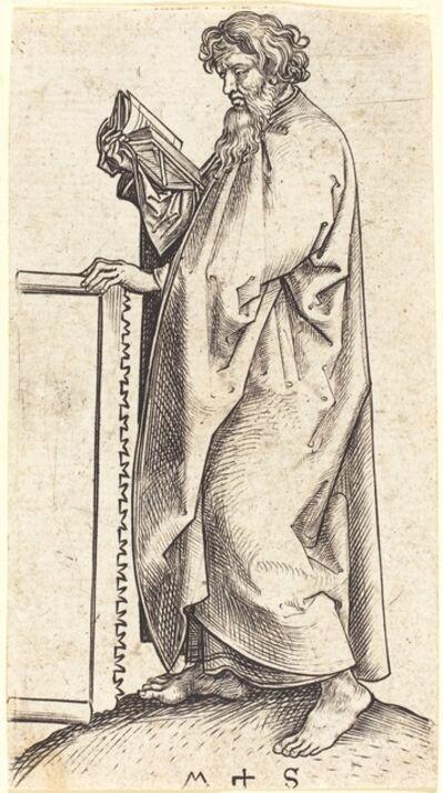 Martin Schongauer, 'Saint Simon', ca. 1480