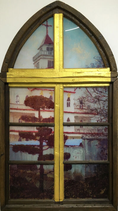 Li Qing 李青 (b. 1981), 'Neighbor's Window · Rural Church', 2016