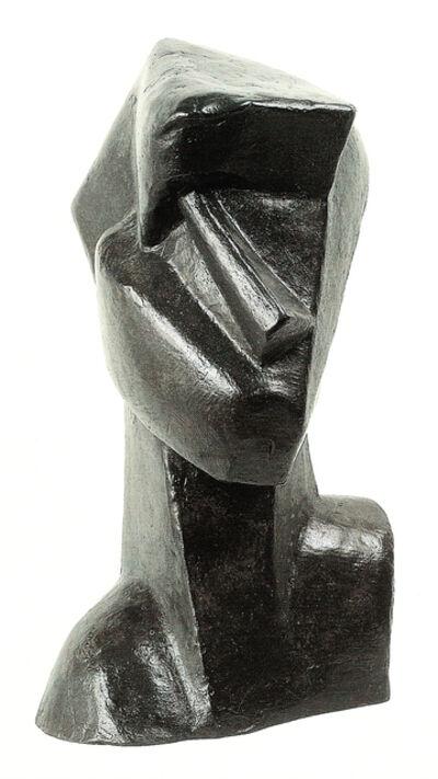 Joseph Csaky, 'Cubist Head', 1914