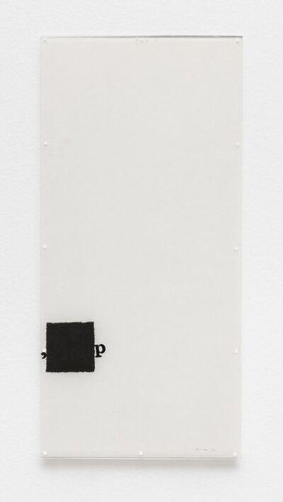 Mira Schendel, 'Untitled [Little Stubs series] ', 1972