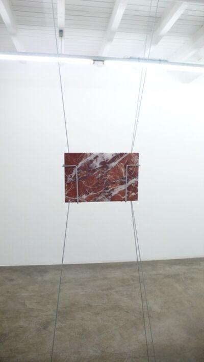 Andreas Fogarasi, 'Postcard (Rosso Antico Muhri)', 2018