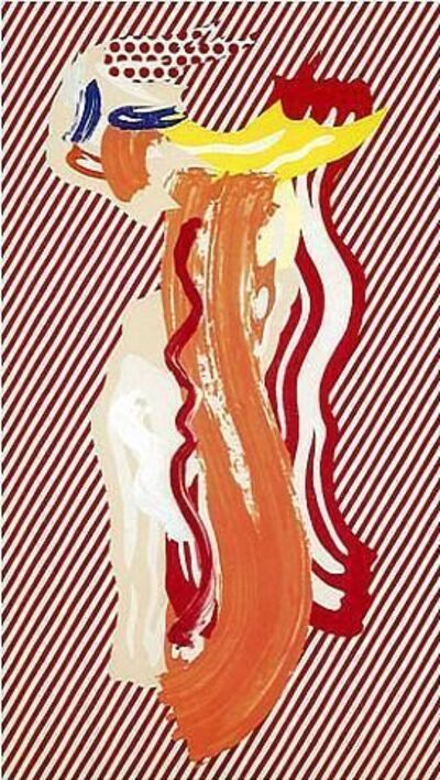 Roy Lichtenstein, 'Nude from Brushstroke Series', 1989