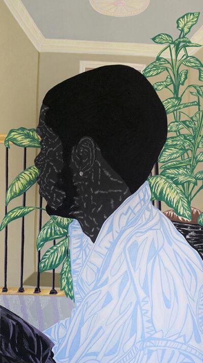 Toyin Ojih Odutola, 'The Raven', 2016