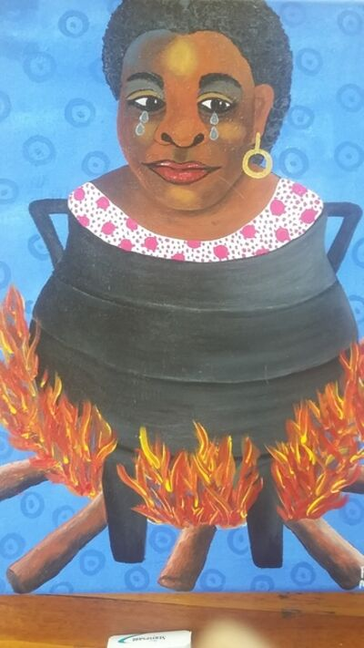 Phindile Mamba, 'My in -laws are burning me', 2019