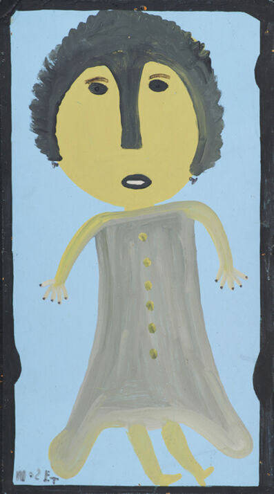 Mose Tolliver, 'Woman with Grey Topcoat'