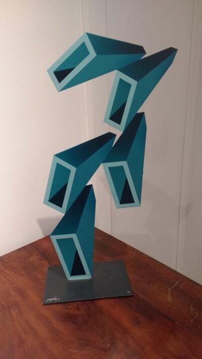 Daniel Sanseviero, 'Blue sculpture'