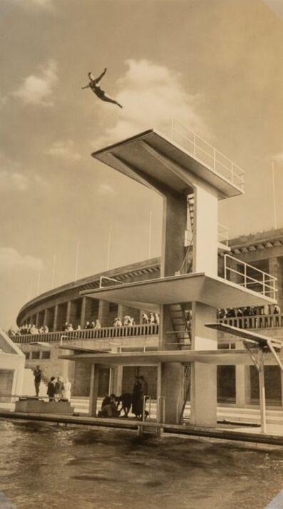 Leni Riefenstahl, 'High Diver Olympics', 1936