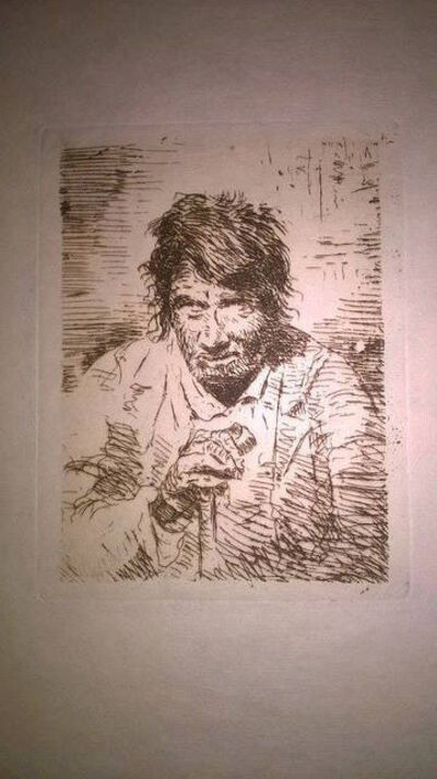 Eugenio Lucas Velázquez, 'Le mendiant (The Beggar)', 1902