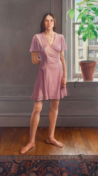 William Beckman, 'Portrait of Diana II (Pink Dress)', 1973