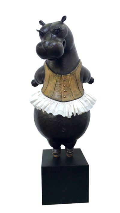 Bjorn Skaarup, 'Hippo Ballerina, tiptoe', 2019