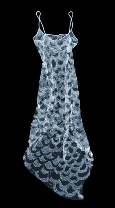 Nick Veasey, 'Scallop Glass Beaded Dress', 2020