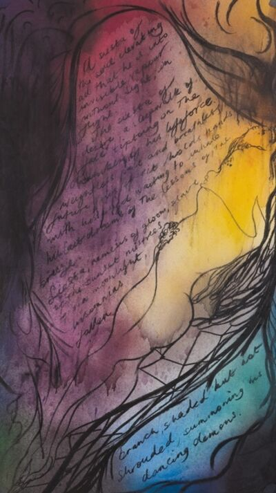 Chris Ofili, 'Siesta of the Soul', 2010