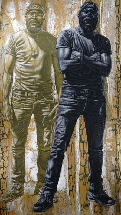 Alfred Conteh, 'Pat and Lil' Pat', 2018