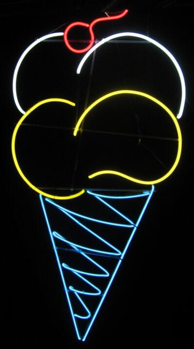 Neon Museum of Philadelphia, 'Rocking Horse Ice Cream Cone', 1972