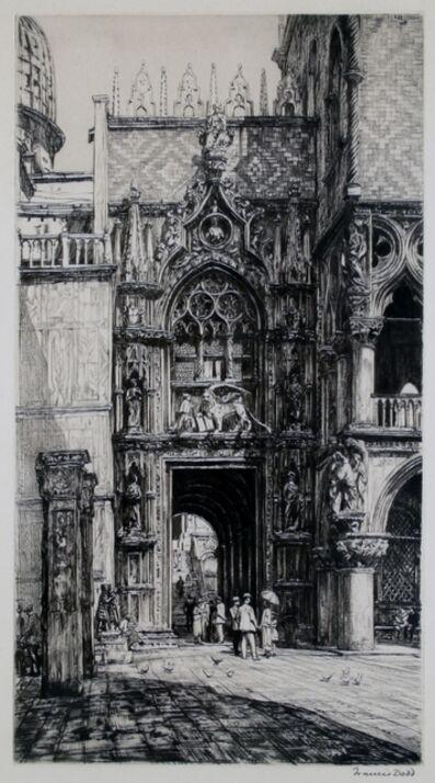 Francis Dodd, 'Porta della Carta, Venice', ca. 1920