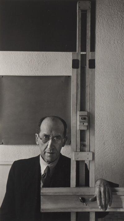 Arnold Newman, 'Piet Mondrian', 1942