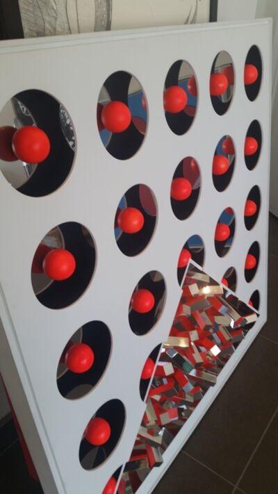 Yutaka Toyota, 'Espaço Invisível Vermelho', 2010