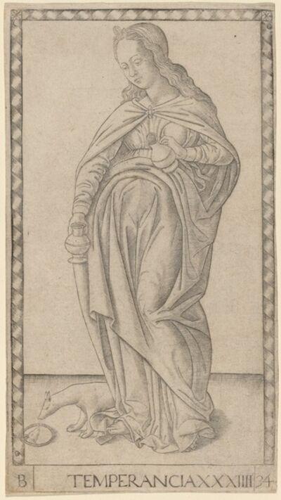 Master of the E-Series Tarocchi, 'Temperancia (Temperance)', ca. 1465