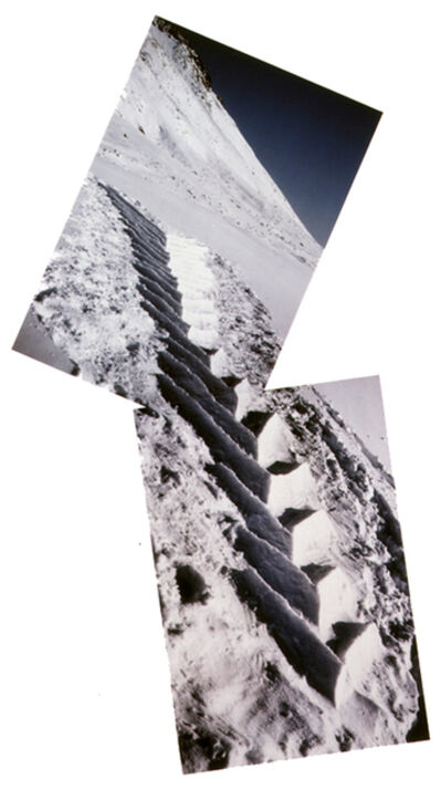 Andy Goldsworthy, 'Soft Snow, Hand Packed, Grise Fjord, Ellesmere Island, 11, 12 April 1989s ', 1989