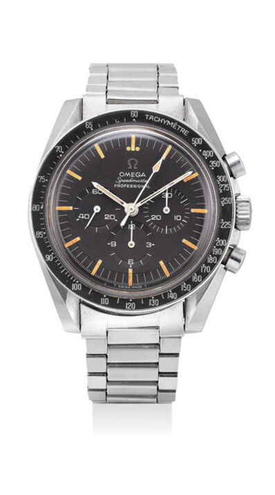 OMEGA, 'A very fine and attractive stainless steel chronograph wristwatch with bracelet', 1967