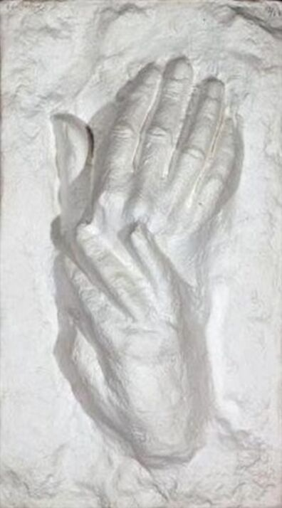 George Segal, 'TWO HANDS I', 1979