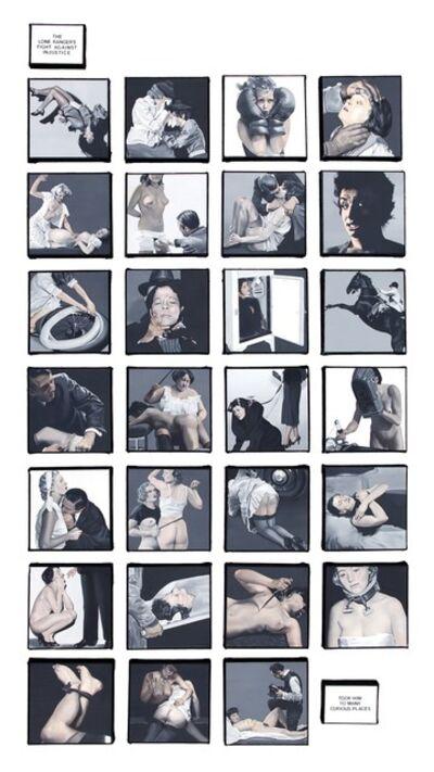 Dotty Attie, 'Curious Places', 2012-2013